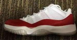 "Air Jordan 11 Low ""Varsity Red"" 今夏回归【今日信息】"